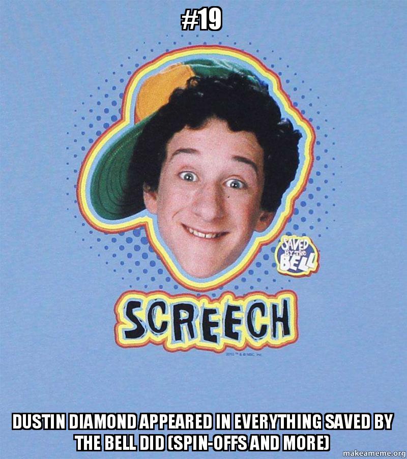 Screech - Picture | eBaum's World |Dustin Diamond Meme