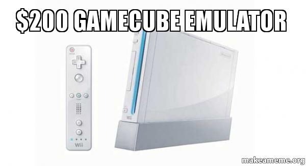 $200 gamecube emulator - How I have been using my Wii lately