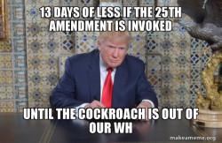 Donald Trump CONTEMPLATING PRISON