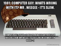 Computer Guy vs Weegee