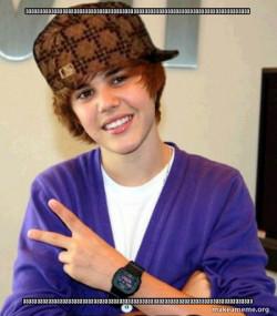 Scumbag Justin Bieber