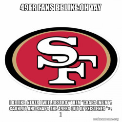 49ers are gone