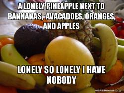 LONELY PINEAPPLE