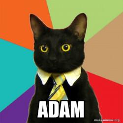 Business Cat Adam