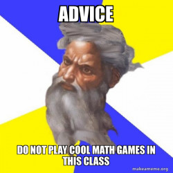 Advice God
