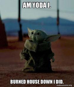 Baby Yoda's House 😂