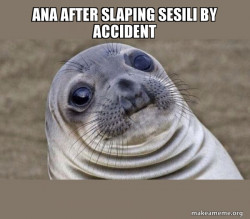 Squeamish Seal