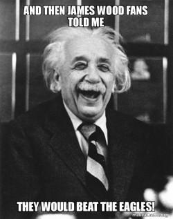Laughing Albert Einstein Eagles