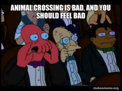 Your meme is bad and you should feel bad - Zoidberg