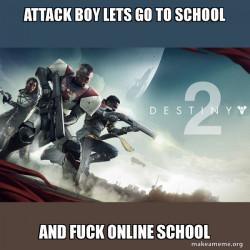 online school vs real school
