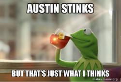 Kermit Drinking Tea