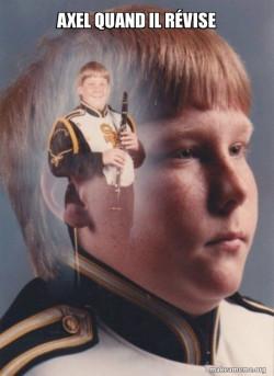 PTSD Clarinet Boy