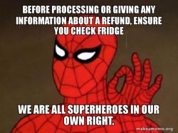 Spiderman - Refund