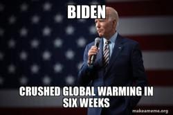 Joe global warm