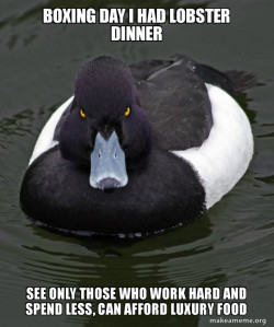 Revenge Duck ( Angry Advice Duck ) not on Universal Credit