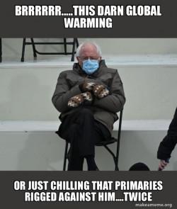 Bernie Sanders at the Inaugurati