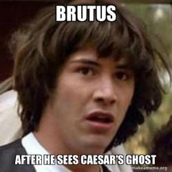 Julius Caesar Act 4 Scene 3