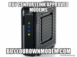 BUY CENTURYLINK APPROVED MODEMS