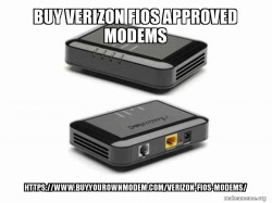 BUY VERIZON FIOS APPROVED MODEMS