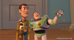 Buzz and Woody (Toy Story) Meme