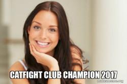 Good Girl Gina - Catfight Club Champion 2017
