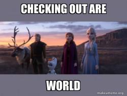 Frozen be like