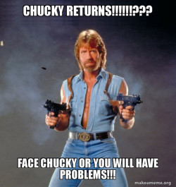 unstoppable CHUCK NORRIS