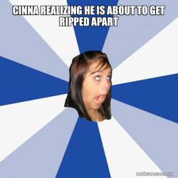 Annoying Facebook Girl