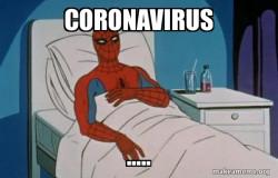 Spiderman Corona