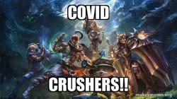 covid crushers