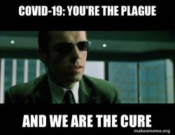 Agent Smith COVID Plague