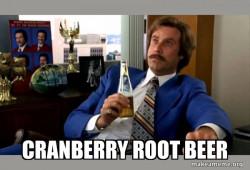 Ron Burgundy - Cranberry Root Beer