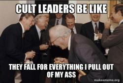 Cult leaders meme
