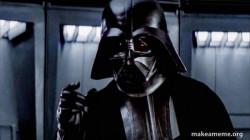 Darth Vader - Chokewhere the fucking milk karen