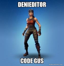 Denieditor