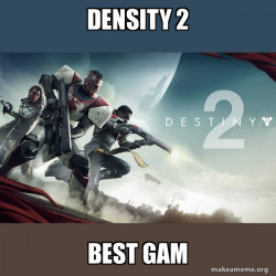 density 2 best gam