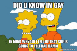 Bart and Lisa Chat