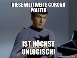 Spock and Corona meme