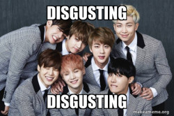 K-Pop Band BTS (Bangtan Boys)