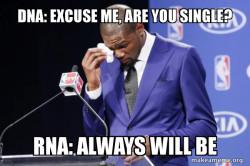 RNA's struggle