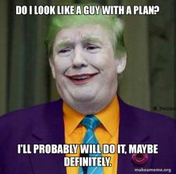 Donald Trump - The Joker Shutting Down the Country