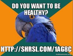 Wise and Healthy Parrot