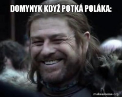 Happy Ned Stark Meme