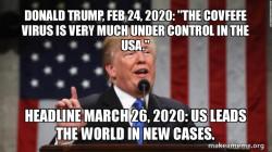Donald Trump covfefe virus