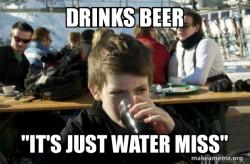 Drunk Elementary School Kid