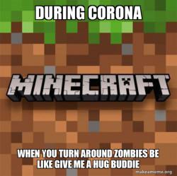 minecraft during corona