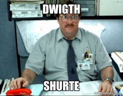 Milton from Office Space