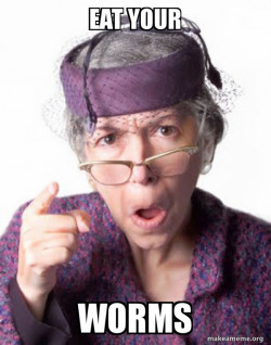 Disapproving Grandma