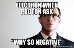 Proton electron