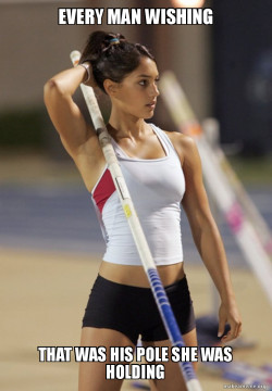 Ridiculously Photogenic Pole Vaulter